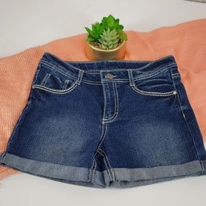 Faded Glory Rolled Cuff Jean Shorts